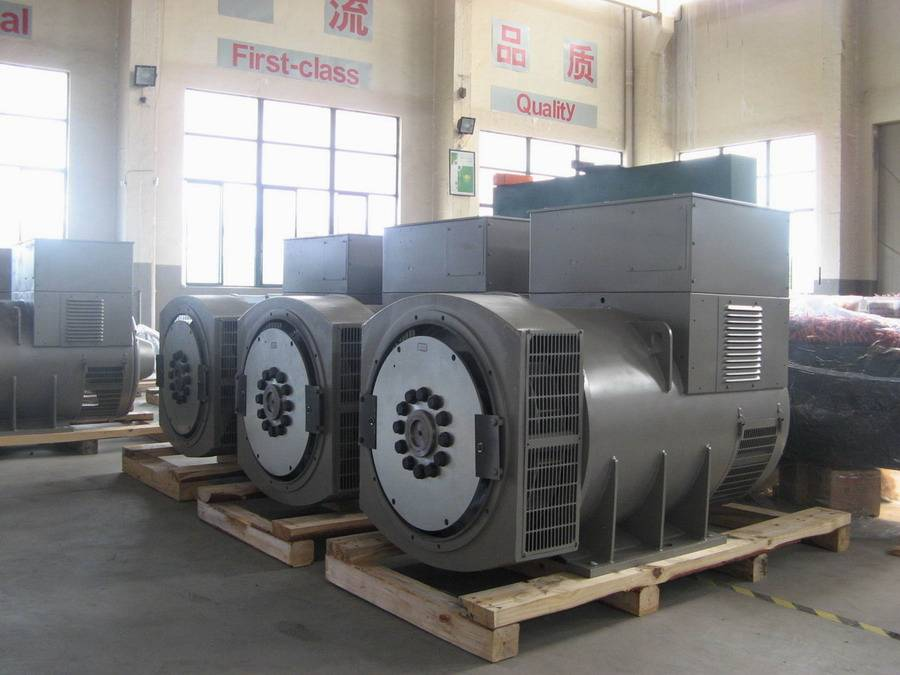 Brushless Type Alternator for Industrial Power Generator, ASF Series, with High Reliable Quality