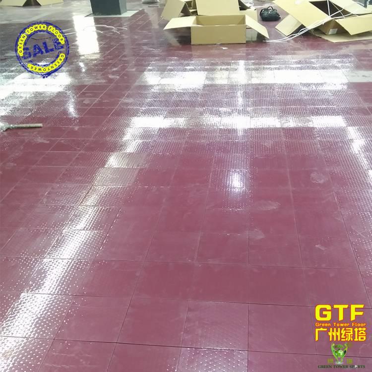 Durable PP Interlocking Sports Flooring for Skating