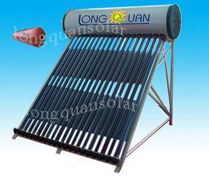 CE Approved Integrated Pressurized Solar Water Heater