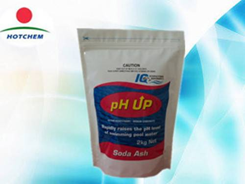 sodium carbonate soda ash ph+, ph plus for water treatment chemical