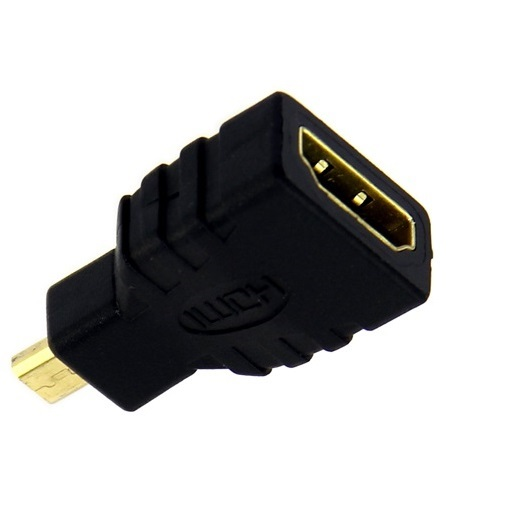 HDMI Adapter HDMI Type A Female to Micro HDMI Type D Male