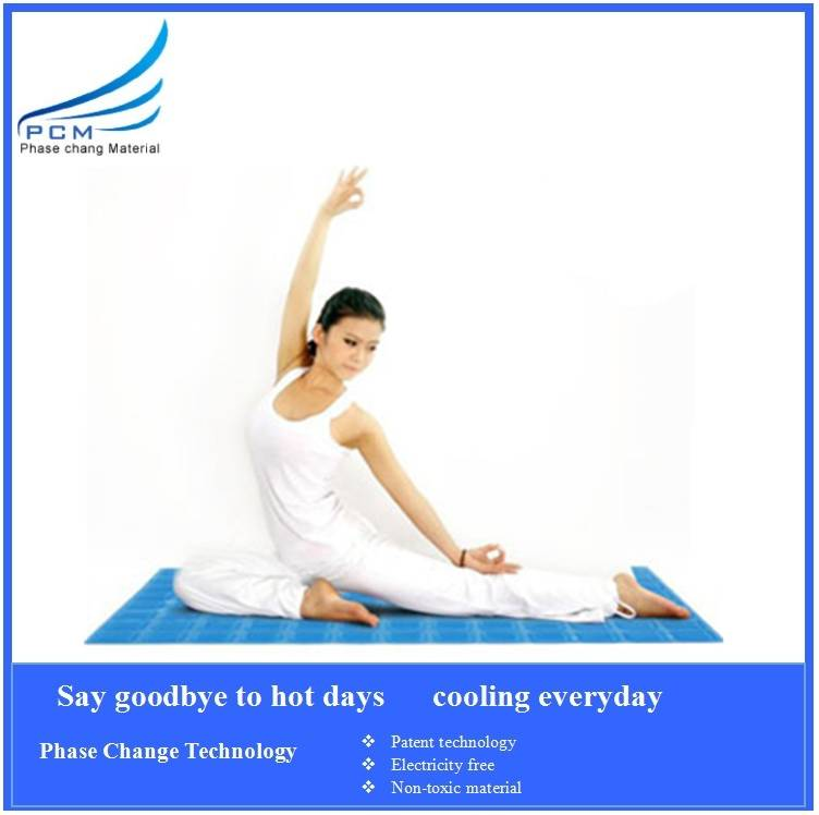 Hot selling summer cooling yoga mat