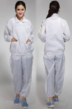 electro static discharge workwear garment
