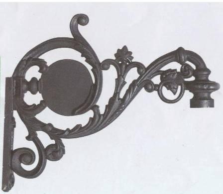 lamp bracket/ wall bracket/ lamp post parts