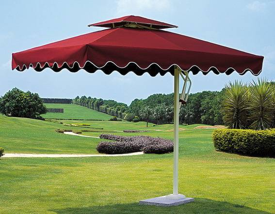 Square unilateral Sun Umbrella
