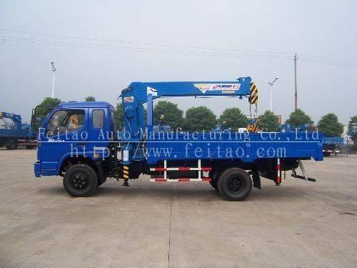 telescopic boom crane&truck mounted telescopic crane
