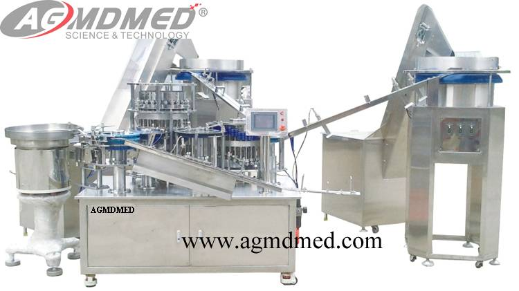 Disposable Syringe Automatically Assembly Machine