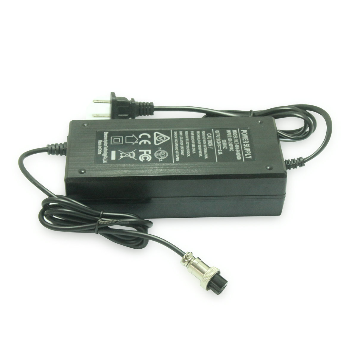 Factory Price 42v2a Lithium Battery Charger 84w Scooter Adapter For Self Balancing Scooter 2 Wheels