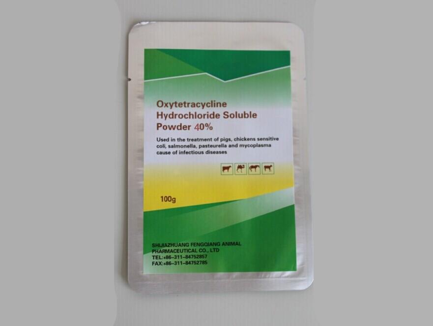 Oxytetracycline Hydrochloride 40% WSP