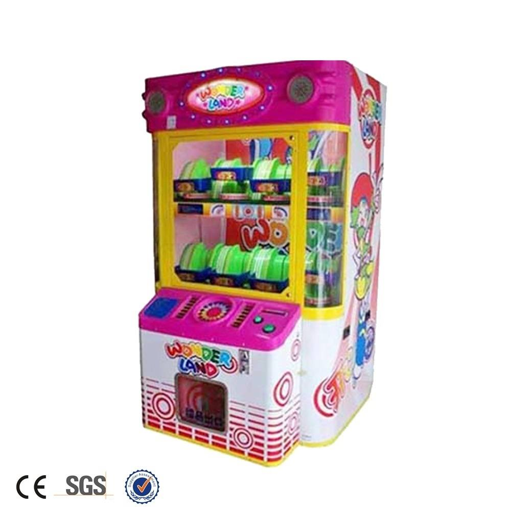Coin operated prize redemption game machine