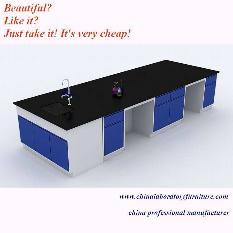 steel lab benches with doors and drawers from China