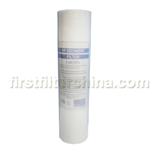 Offer high quality of 10 pp Sediment Water Filter Cartridge