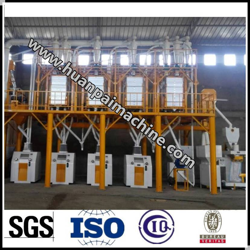 flour milling machinery for wheat/maize/corn