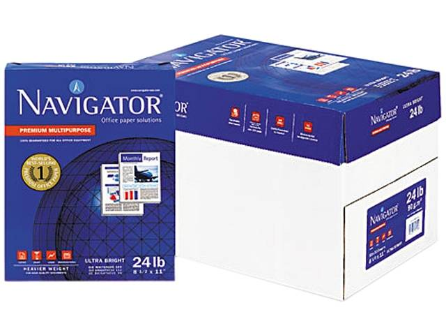 Navigator and Double A A4 Copy Papers 70gms - 80gsm