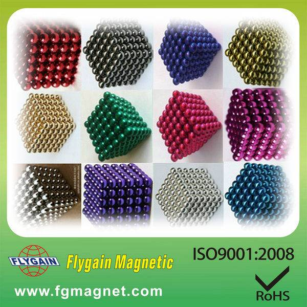 best selling 5mm colorful magnetic ball