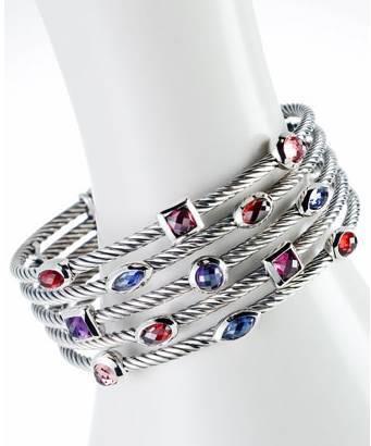 Five Row Berry Confetti Bracelet