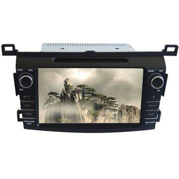 TOYOTA RAV4 new 2013 car dvd gps navigation with Bluetooth/TV/3G/iPod/Radio