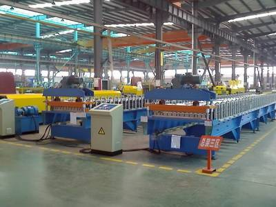 Corrugated & IBR Profile Steel Roof Sheet Rollforming Line