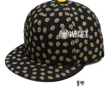 2014 spring new Korean version the influx of men and women cute baby stamp hip-hop baseball cap flat