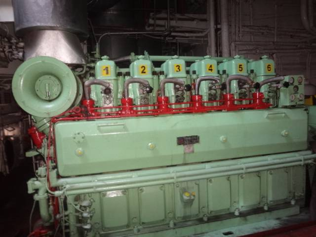for sale SULZER 6ASL-25/30 diesel engine