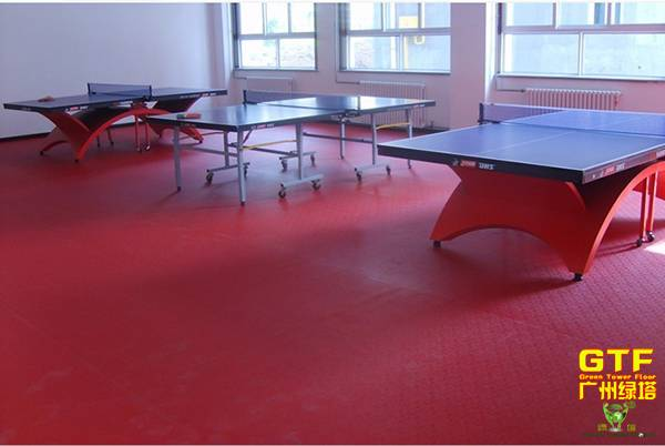 Durable PVC Sports Flooring for Table Tennis