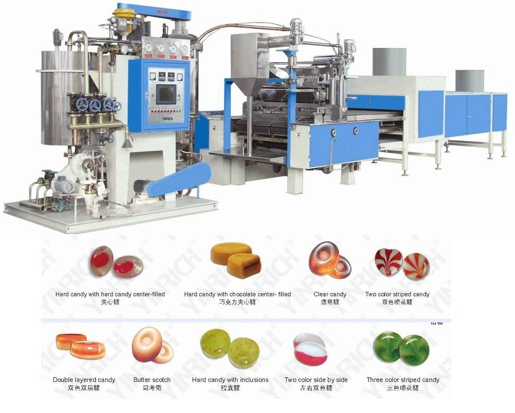 GD150/300/450/600 Hard Candy Machine