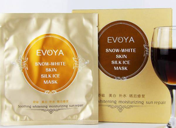 Skincare Repairing Mask 30gx6p Whiten Skin Silk Ice Facial Mask