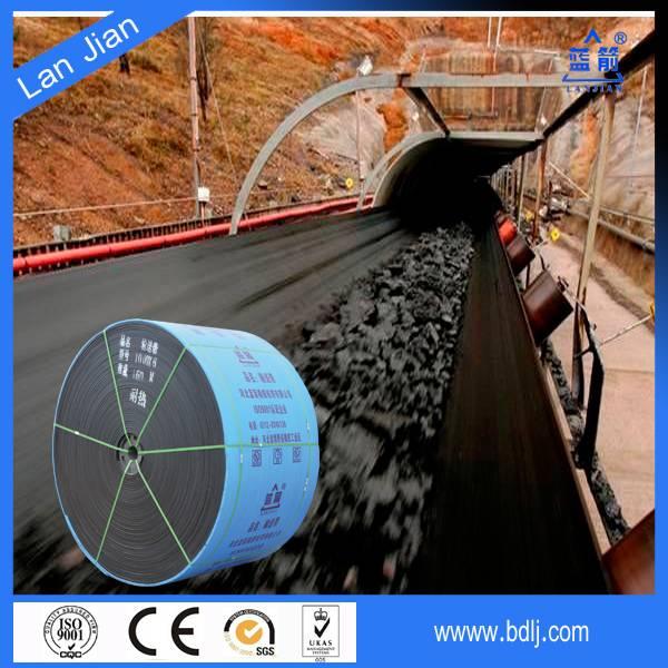 Rubber Heat Resistant Conveyor Belt for Sintering Ore Coke Cement Clinker Foundry
