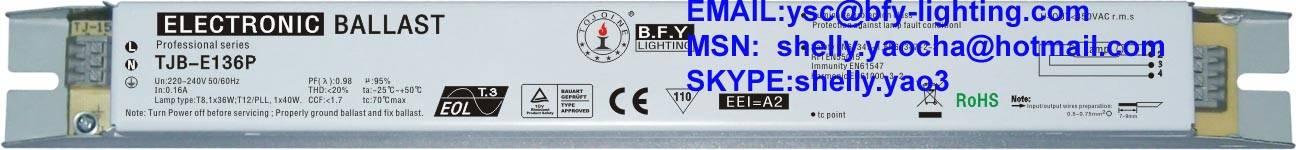 electronic ballast 36w
