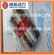 Weichai Engine Spare Parts Cylinder Liner