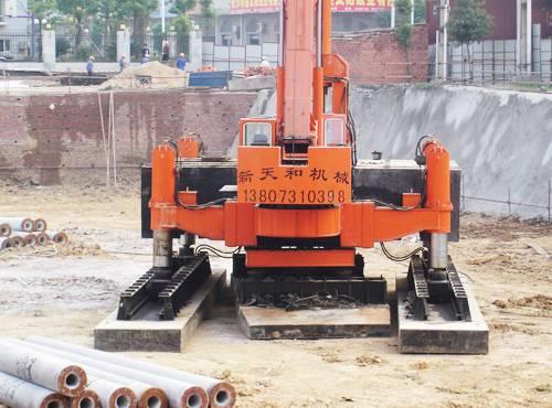 ZYC1200B-B Multifunctional Hydraulic Static Pile Driver