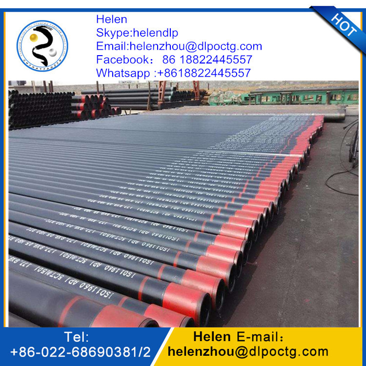 API 5CT oil field grade J55 oil seamless steel tubes casing and tubing pipe/pup joints