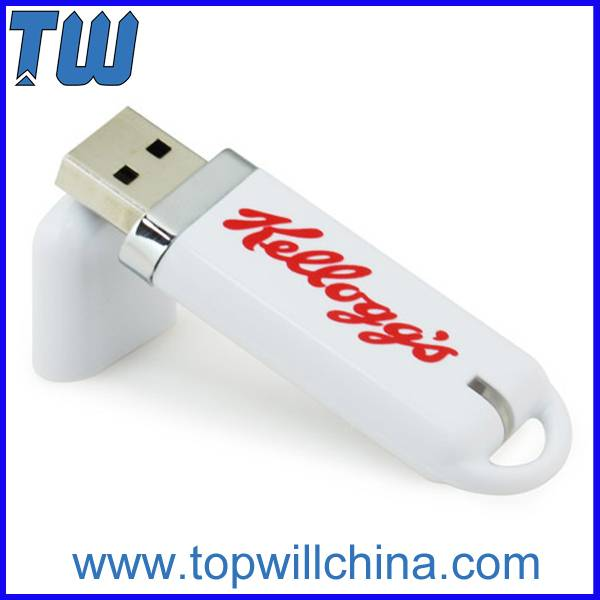 Classic Plastic Usb Pen Drive Soft Touch Rubber Finish