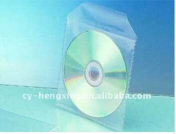 transparent polypropylene cd sleeve