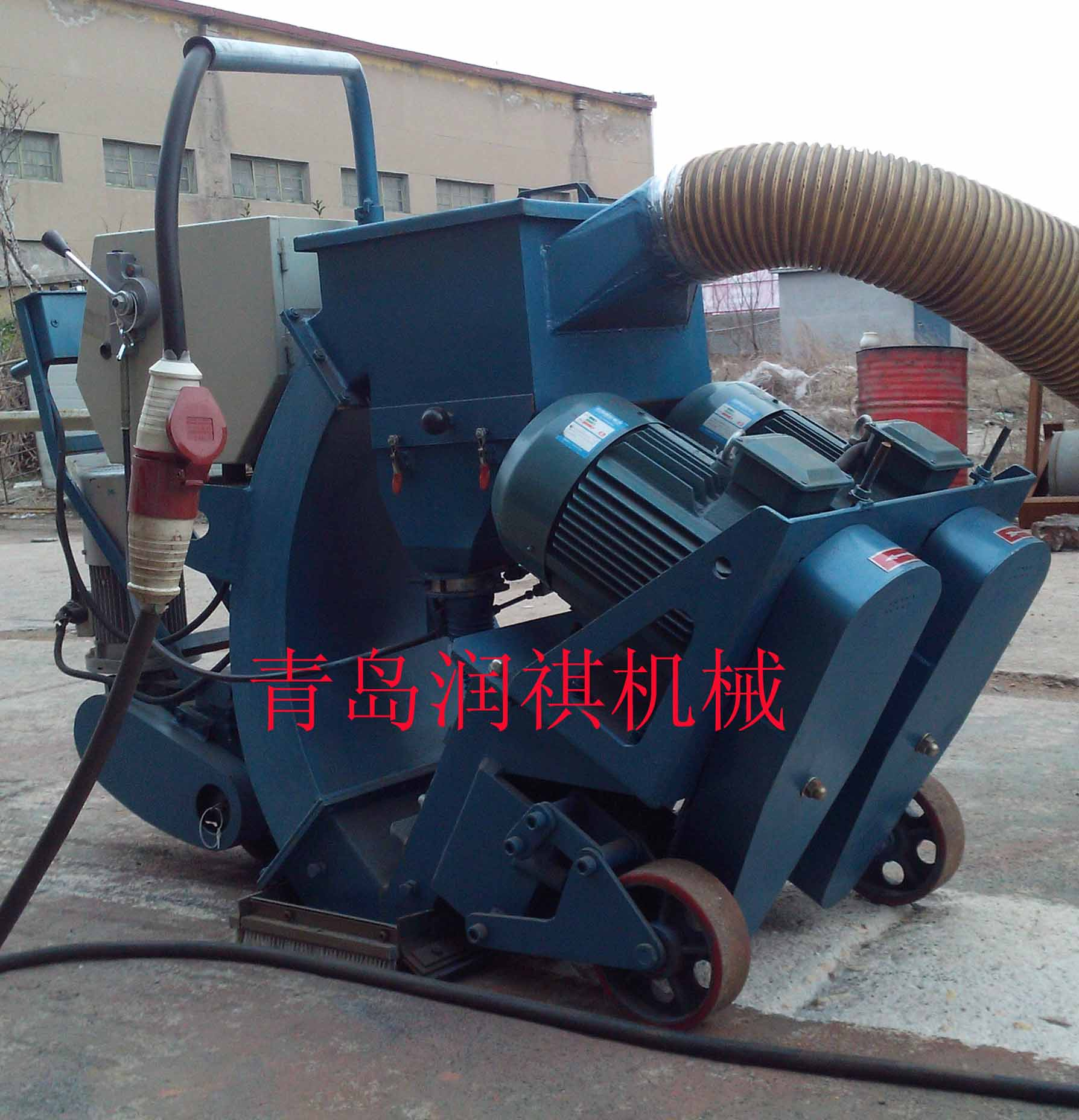 Provide factory type shot blasting machine