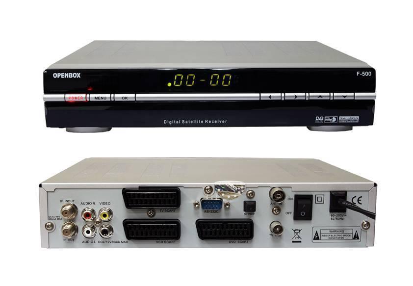openbox F500/Openbox f500 STB set top box digital satellite receiver