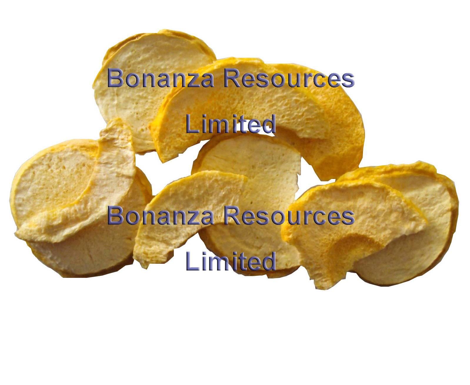 Freeze Dried Peach Chips
