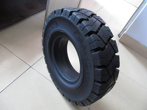 ANair Pneumatic Solid Tire 7.00-12, for Forklift and other industrial