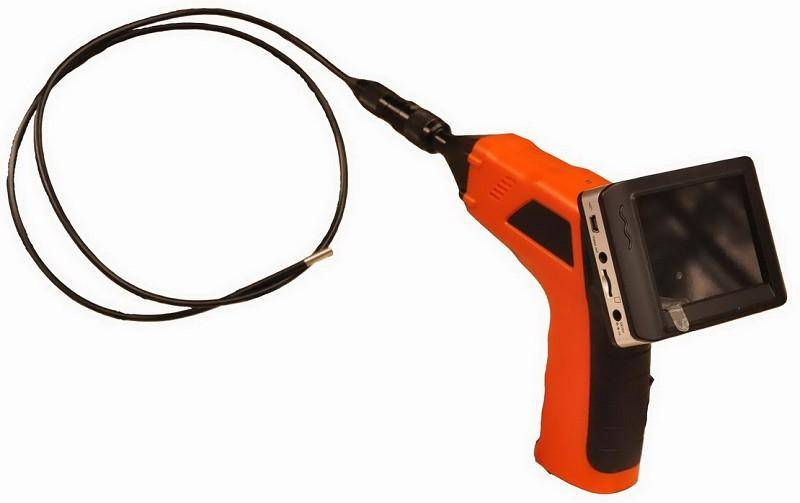 2.4GHz wireless inspection camera with recording monitor