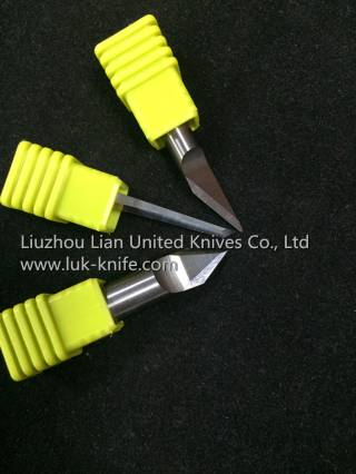 Tungsten Carbide Plotter Knives/Router Knives for Textile/Leather/Carpet Graving