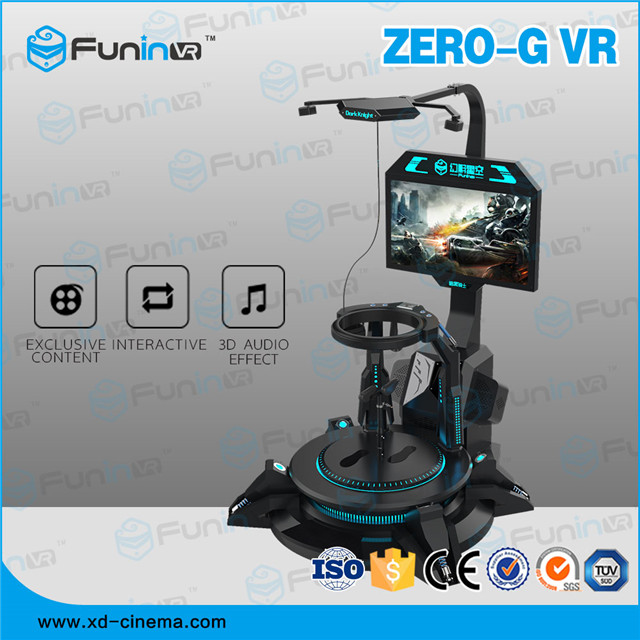 Selling 2018 hot selling Zero-G Virtual Reality game machine with vr headset