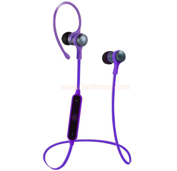 wireless bluetooth 4.1 version sports earphone with mic