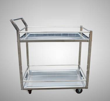 Groove type stainless steel warehouse trolleys RCS-0220