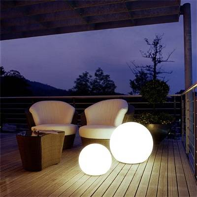 supply LED ball and cube
