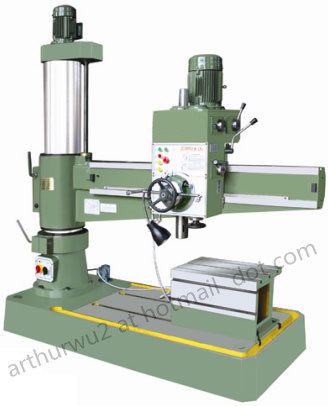 Z3050 Radial Drilling Machine(hydraulic clamping device optional)