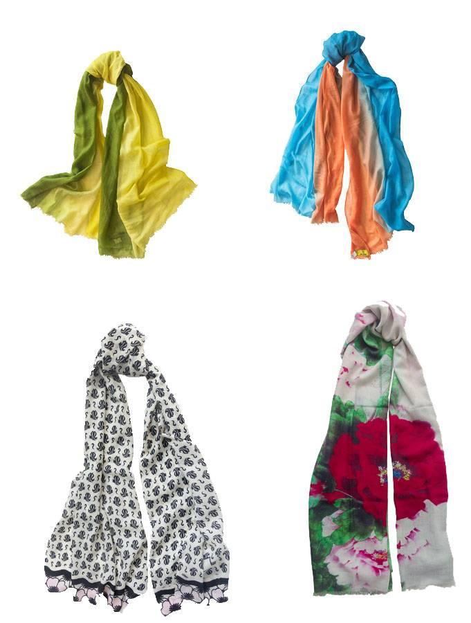 cashmere shawl / scarf