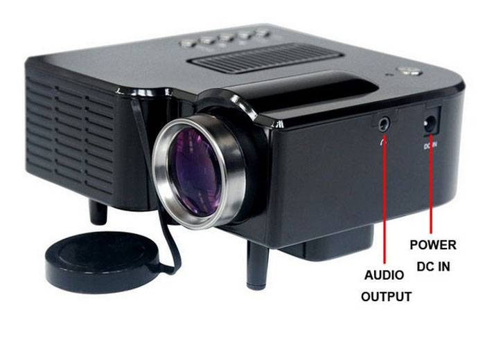 G40 Portable DIY HD Mini LED Home Theater Projector