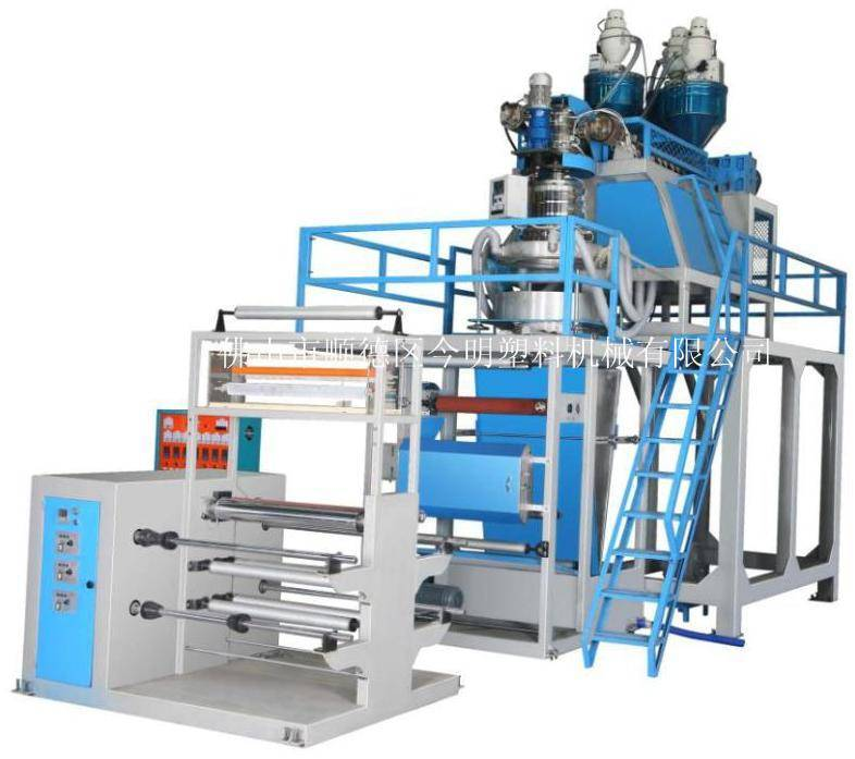 JM-Three Layer PP Film Extrusion Blowing Machine/pp film blowing machine/pp extrusion film blowing m