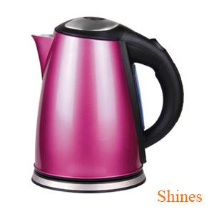 electric kettle with color sprayed