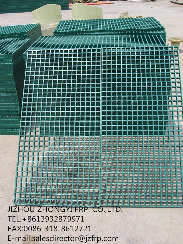 FRP frating for water treatment